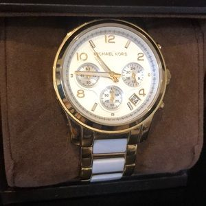 Michael Kors Watch with scratch and no box